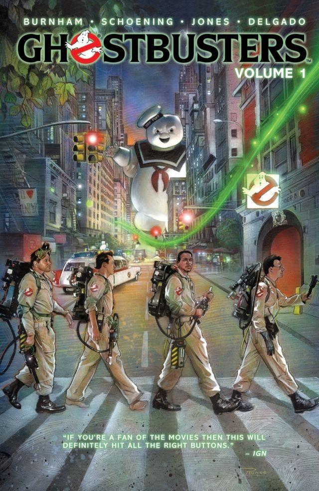 Copertina di Ghostbusters Vol.1